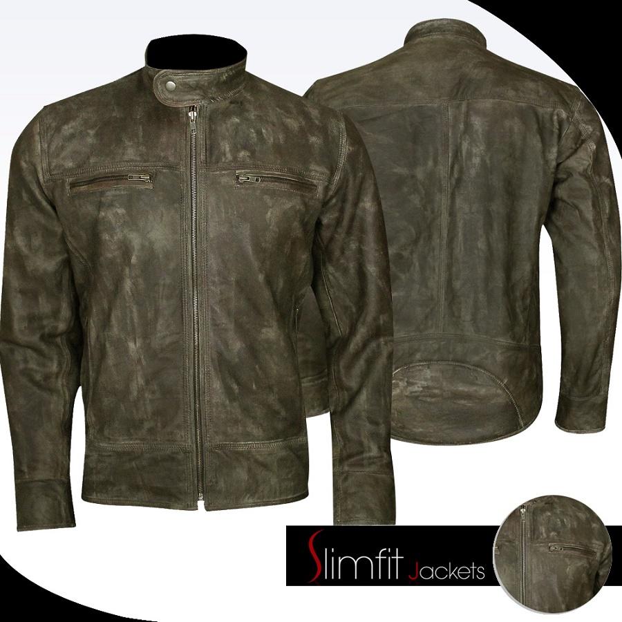 1da8f3e2e Distressed Leather Jackets