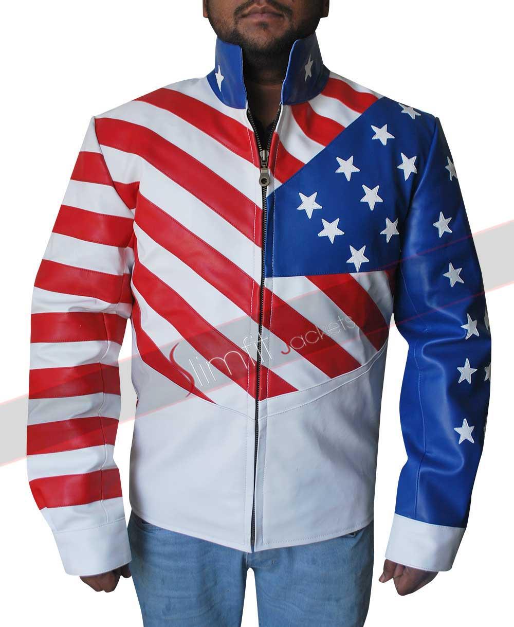 British Union Jack Flag Leather Jacket