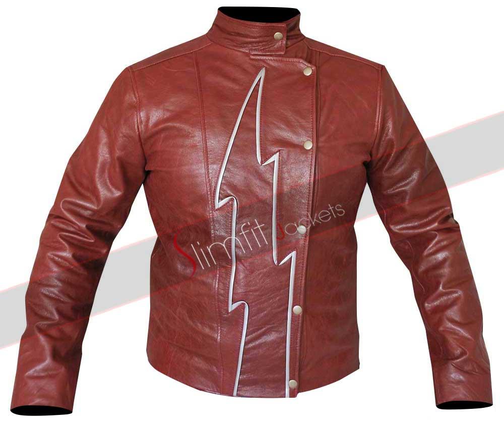 The Reverse Flash Yellow Lightning Costume Jacket