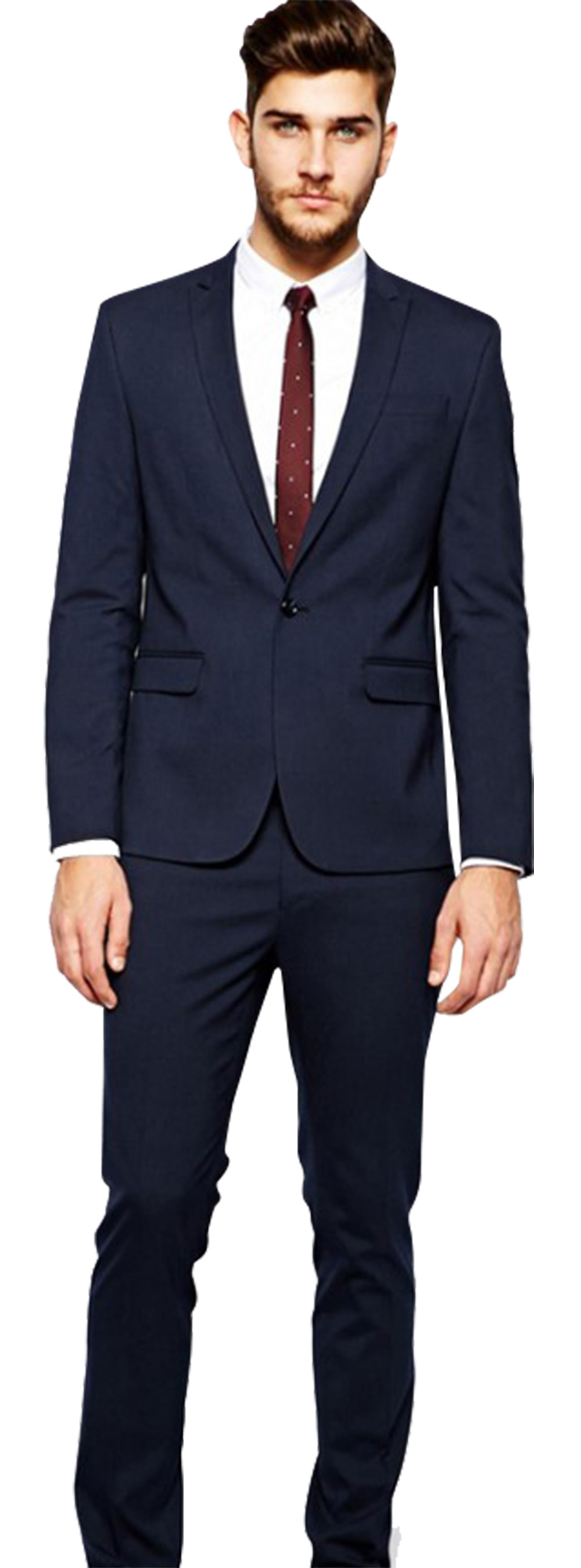 Matthew McConaughey Navy Blue Suit