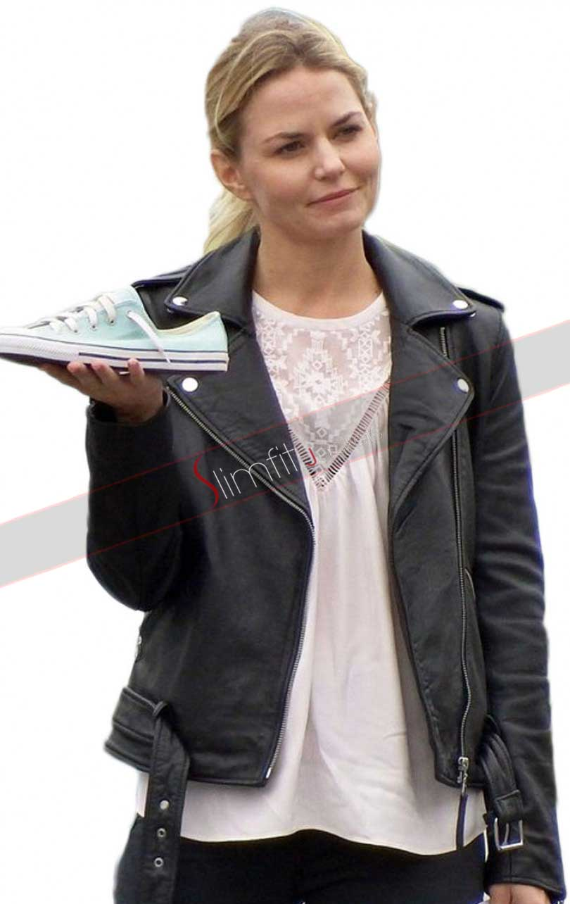 Emma Swan Black Once Upon A Time Hooded Jacket