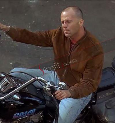 A Good Day To Die Hard 5 Bruce Willis John Mcclane Jacket