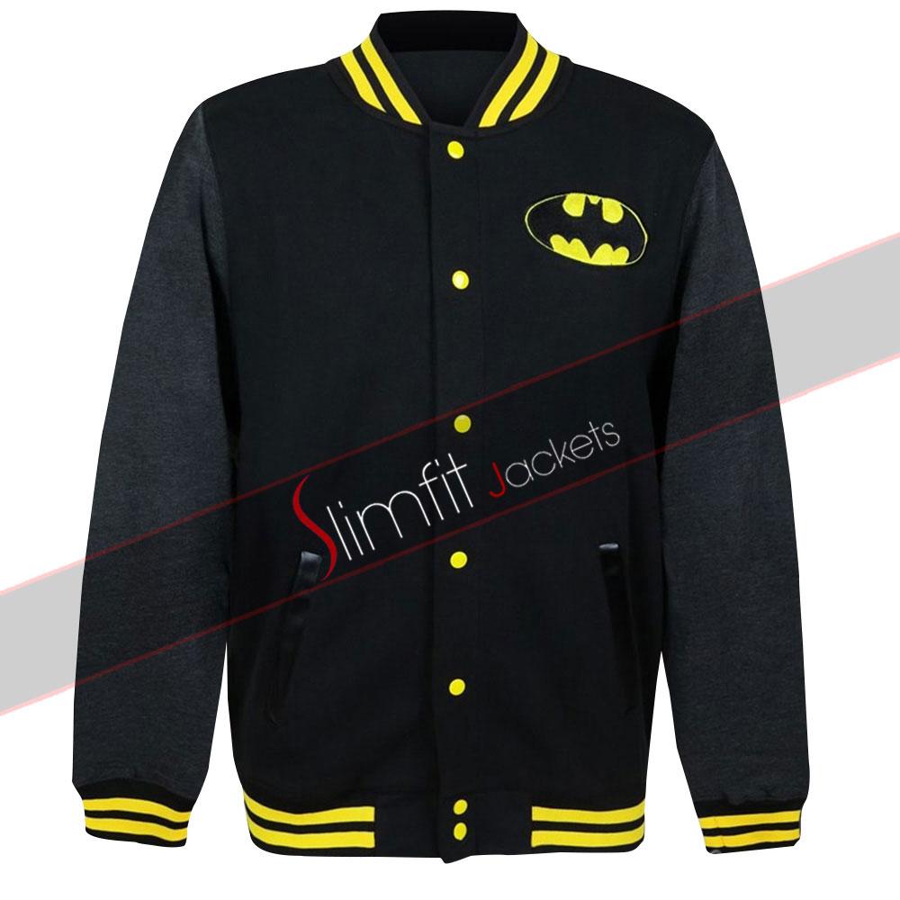 Comic Book Terry Mcginnis Batman Black Athletic Jacket