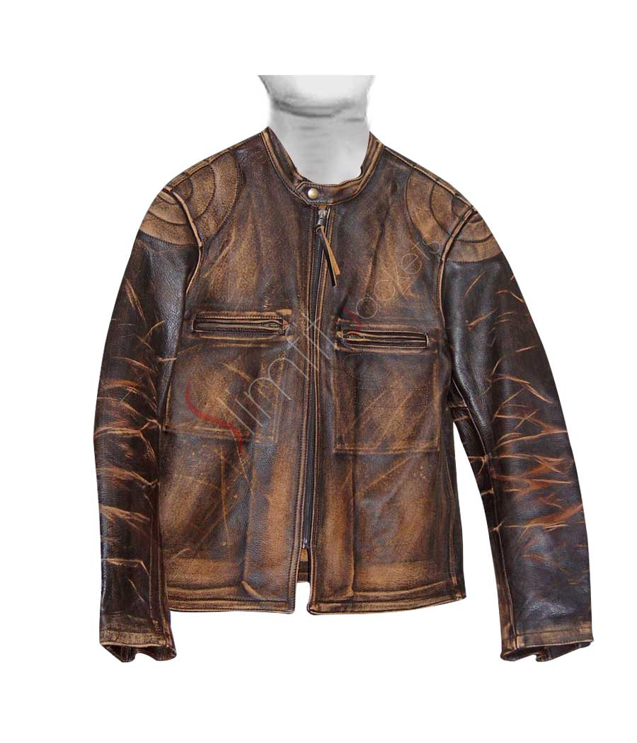 Distressed Leather Jackets
