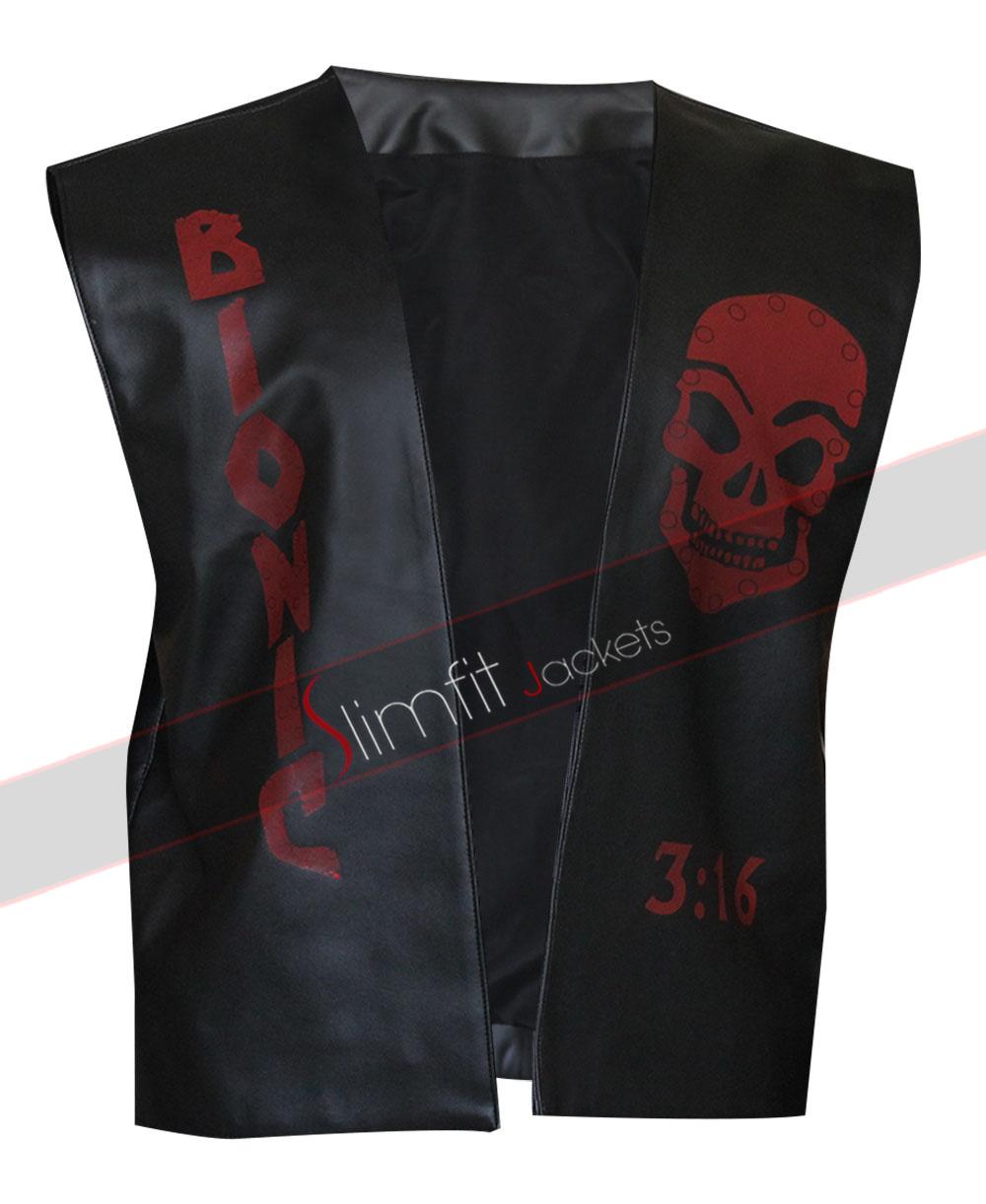 Chris Jericho Light Up Replica Wwe Y2j Leather Jacket