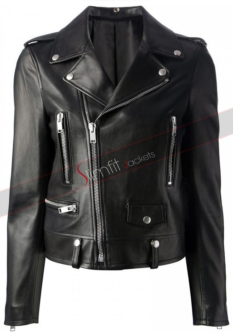 Faux Moto Jacket